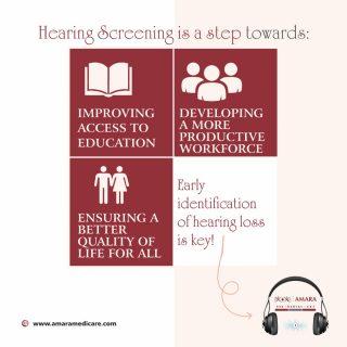 Benefits of hearing screening